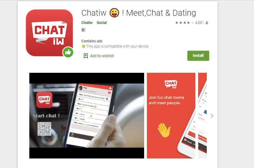 chatiw mobile apps