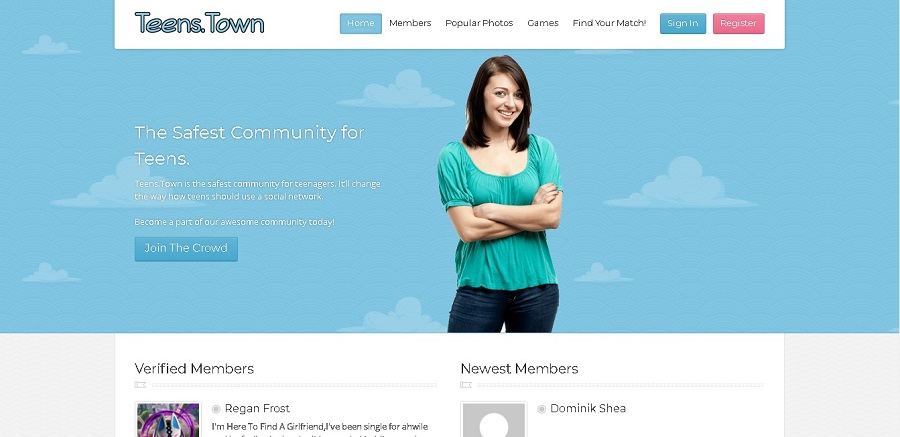 teenstowns Dating sites for Teens