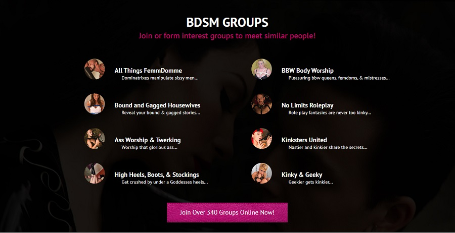BDSM Groups